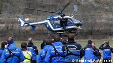 Germanwings 4U9525 Flugzeugabsturz Rettungsmannschaften vor Ort