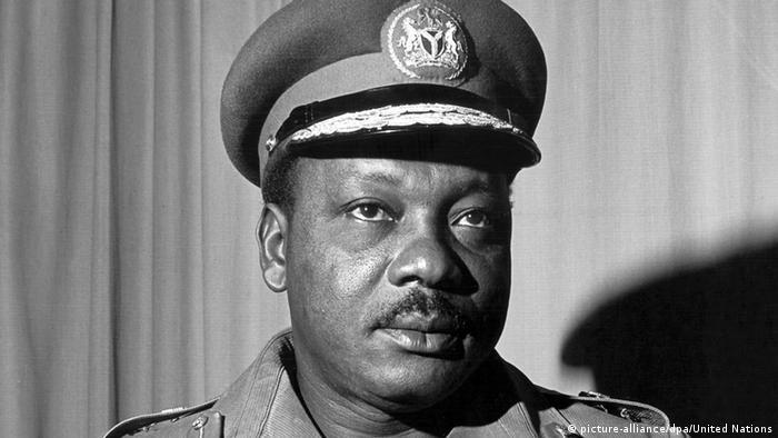 Nigeria Bildergalerie Staatspräsidenten Johnson Aguiyi-Ironsi