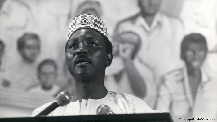 Nigerian former leader Yakubu Gowon.