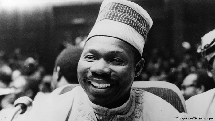 Nigeria Bildergalerie Staatspräsidenten Olusegun Obasanjo