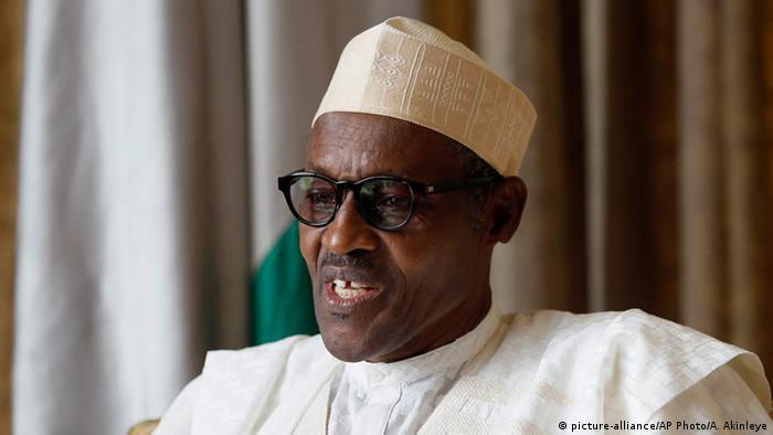 Nigeria Bildergalerie Staatspräsidenten Muhammadu Buhari