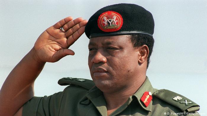 Nigeria Bildergalerie Staatspräsidenten Ibrahim Badamasi Babangida