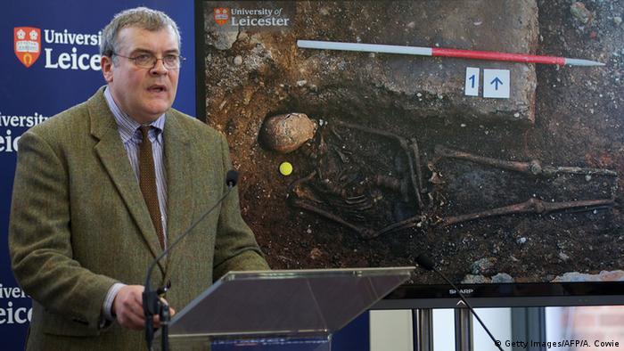 England Leicester Grab von Richard III.entdeckt Pressekonferenz