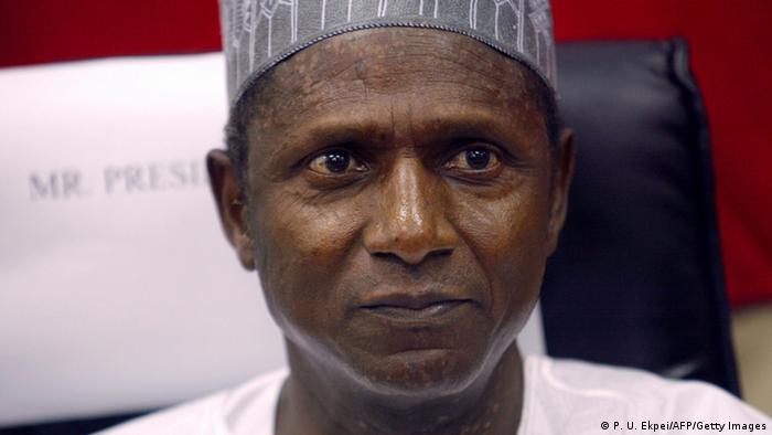 Nigeria Bildergalerie Staatspräsidenten Umaru Musa Yar'Adua