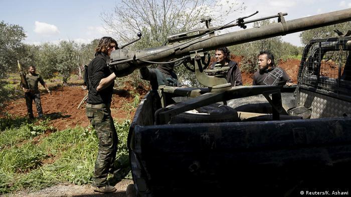 Syrien Idlib vor der Offensive