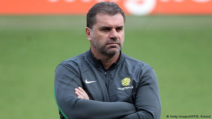 Australiens Fußball-Nationaltrainer Ange Postecoglou. Foto: Getty Images