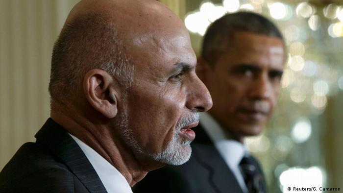Washington Ghani bei Obama PK