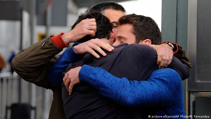 Relatives of Germanwings victims