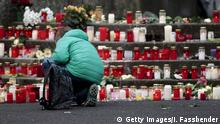 25.03.2015+++ A student places a candle at the Joseph-Koenig-Gymnasium high school in Haltern am See March 25, 2015. Students and teachers at the small-town German high school broke down in tears once they realised that 16 classmates and two teachers were on board an ill-fated Germanwings airplane that crashed in France on Tuesday on a flight to Duesseldorf. The Airbus operated by Lufthansa's Germanwings budget airline crashed in the French Alps, killing all 150 on board. Germanwings confirmed its flight from Barcelona to Duesseldorf went down with 144 passengers and six crew. REUTERS/Ina Fassbender