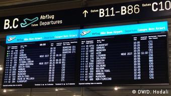Deutschland Flughafen Köln/Bonn Absturz Germanwings A320