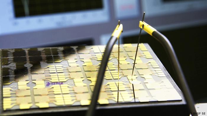 Solarzellentechnologie auf Basis organischer Materialien