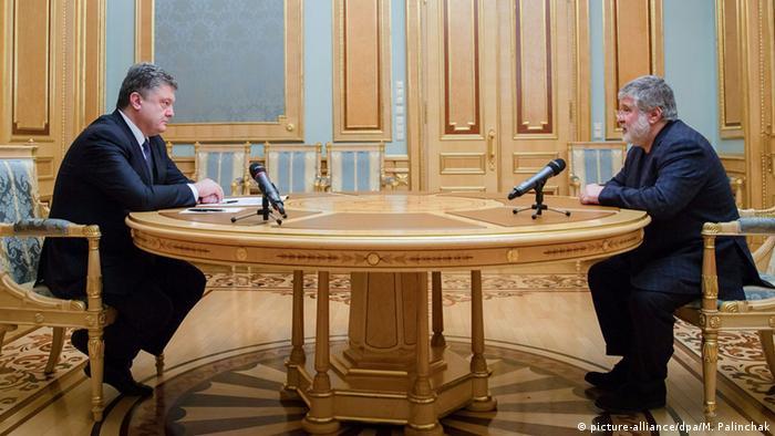 Ukraine Oligarch Poroschenko und Kolomojskyj