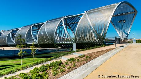 Spanien Madrid Arganzuela Bridge