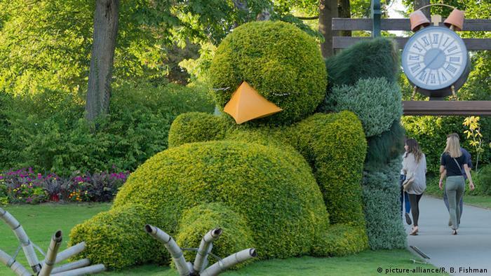 Botanischer Garten in Nantes