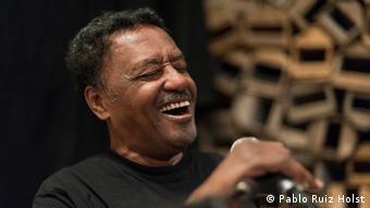 Der äthiopische Sänger und Songwriter Alemayehu Eshete
