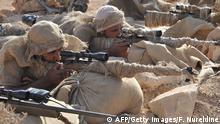 Saudi-Arabien Soldaten bei einem Manöver