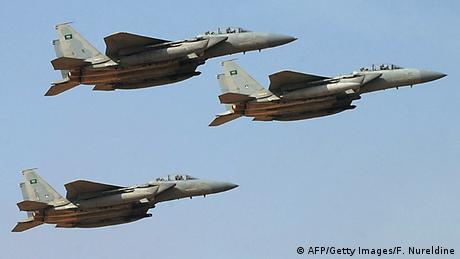 Saudi-Arabien Kampflugzeuge (AFP/Getty Images/F. Nureldine)