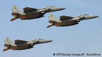 Saudi-Arabien Kampflugzeuge