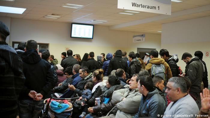 Deutschland Erste Anlaufstelle für Flüchtlinge in Berlin