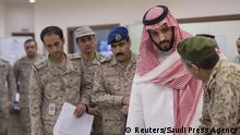 Saudi-Arabien Verteidigungsminister Mohammad bin Salman