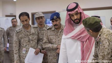 Saudi-Arabien Verteidigungsminister Mohammad bin Salman (Reuters/Saudi Press Agency)