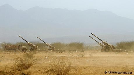 Saudi-Arabien Kämpfe mit Huthi Rebellen an der Grenze zu Jemen