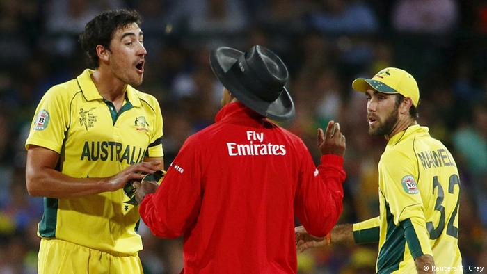 Cricket Halbfinale Australien vs Indien in Sydney