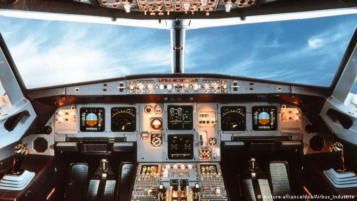 Кабіна пілота аеробуса