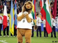 Goleo IV, the official -- and much ridiculed -- mascot of the World Cup