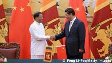 Sri Lankas Präsident auf Staatsbesuch in China (Feng Li-Poo/Getty Images)