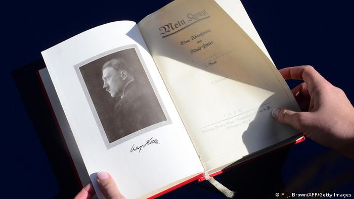 Mein Kampf edition (F. J. Brown/AFP/Getty Images)
