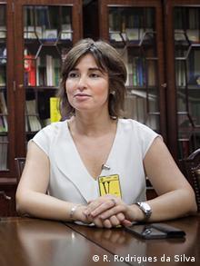 Amnesty International Portugal Direktorin Teresa Pina