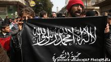 IS Fahne Syrien Nusra Front
