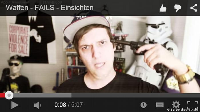 Screenshot LeFloid Youtube Star Video Waffen - FAILS - Einsichten