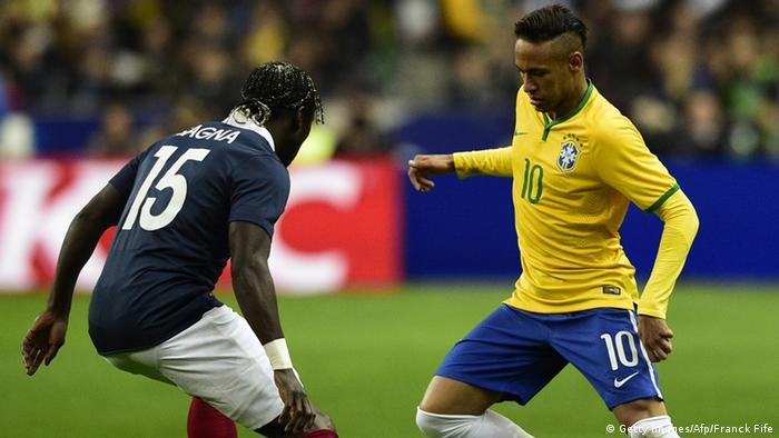 Freundschaftsspiel Brasilien Frankreich
