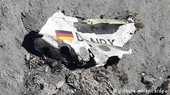 Remains of Germanwings flight 4U 9525