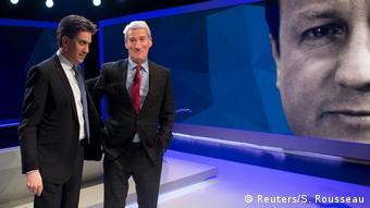 Großbritannien Wahlen Interview Ed Miliband Fernsehen