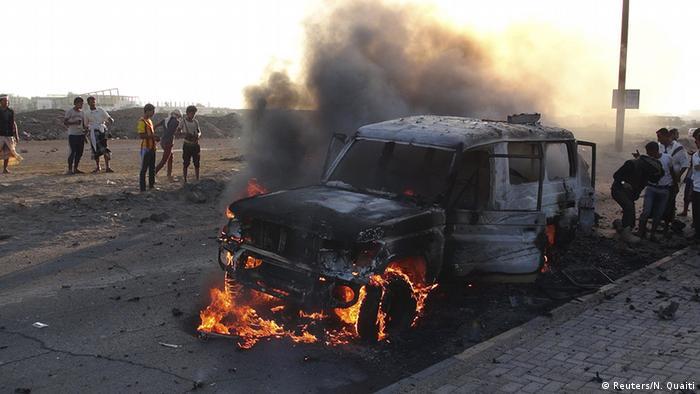Jemen Saudi-Arabien Luftangriff auf Sanaa