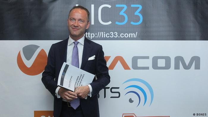 Bulgarien Pierre Louvrier von der Firma LIC33