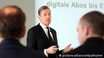 Mathias Döpfner, Vorstandsvorsitzender von Axel Springer (Foto: dpa)