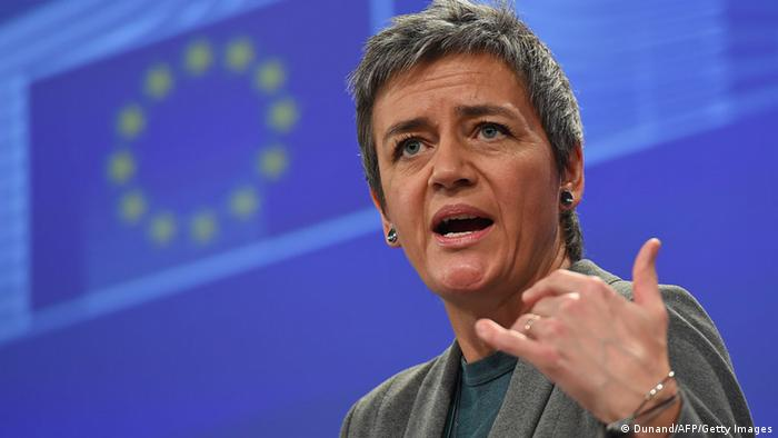 Margrethe Vestager (Dunand/AFP/Getty Images)