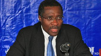 Christoph Fomunyoh heads the NDI observer mission in Nigeria