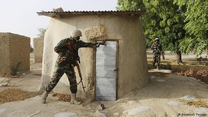Nigeria Soldaten in Diffa Aktion gegen Boko Haram