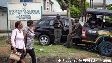 Nigeria Wahl 2015 Straßenszene