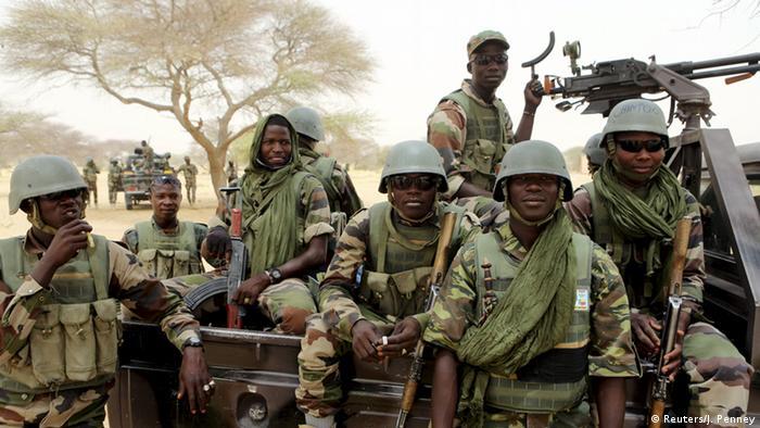 Nigeria Soldaten Offensive gegen Boko Haram