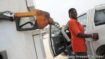 Nigeria Tankstelle in Lagos (AFP/Getty Images/P. U. Ekpei)