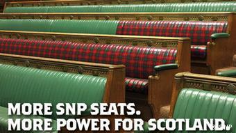 Schottland SNP Kamapgneplakat