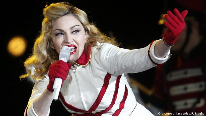 Madonna (Photo: EPA/FELIPE TRUEB)
