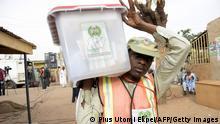 Nigeria Präsidentschaftswahl 2015