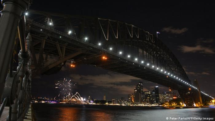 Earth Hour 2015 in Sydney (Foto: AFP/Getty Images)